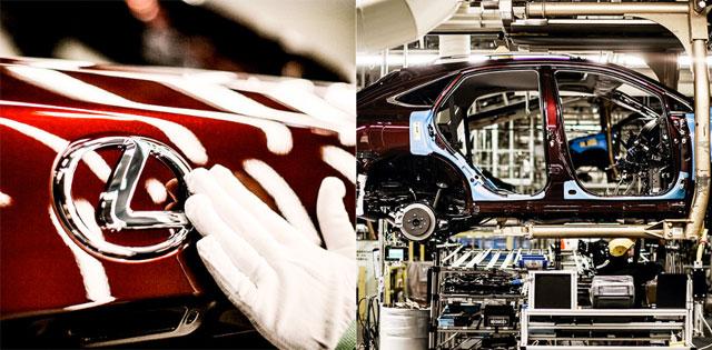 Lexus RX Cambridge Manufacturing Plant