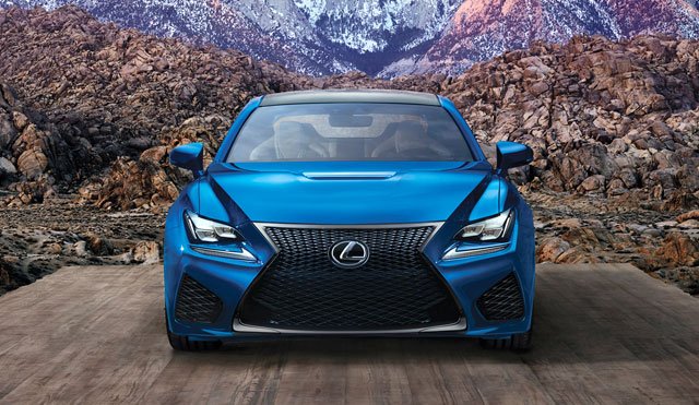 Lexus RC F Continuous Improvement
