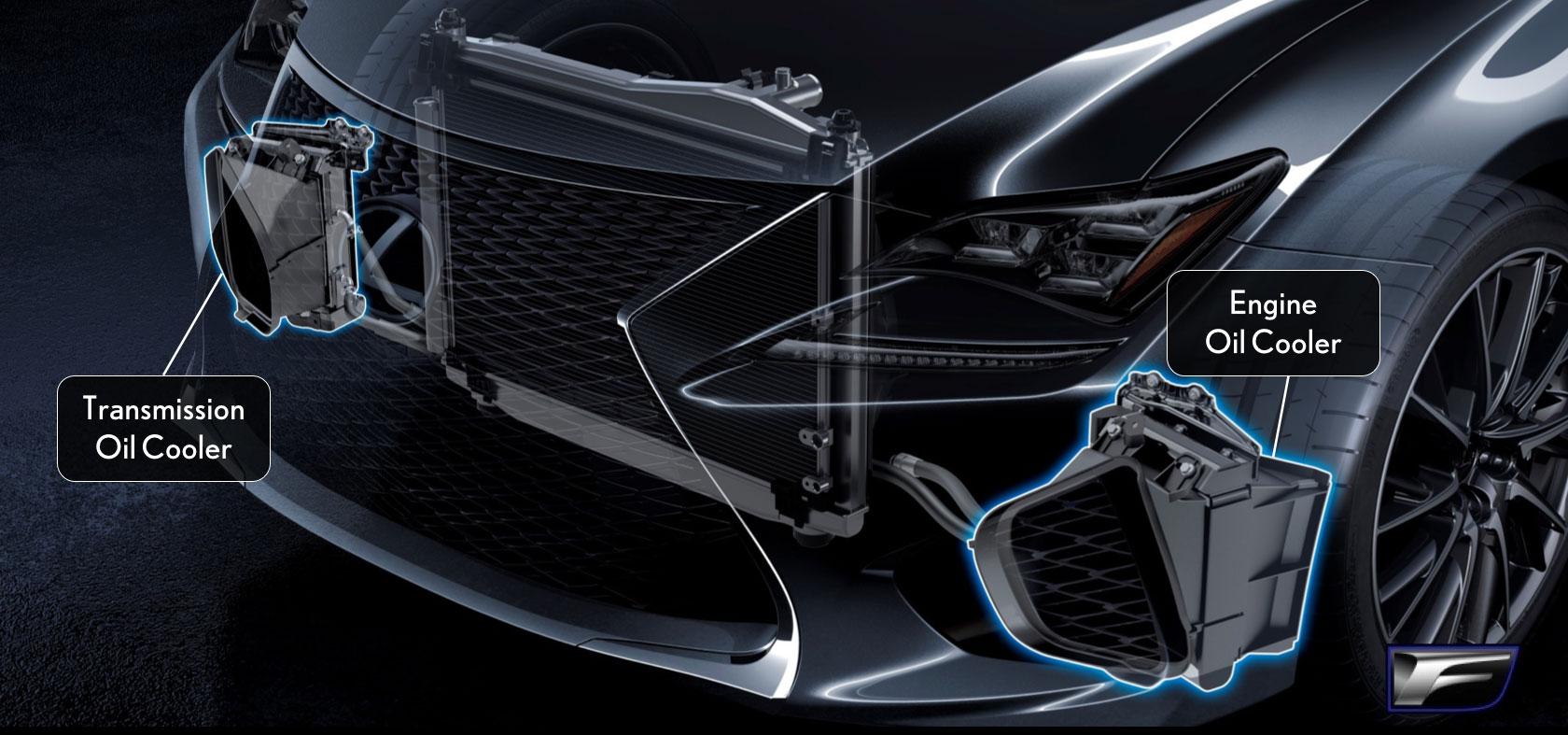 Lexus Rc F Oil Coolers