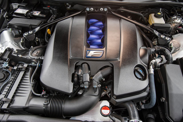 Lexus RC F Engine