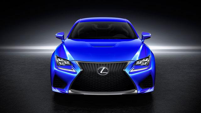 Lexus RC F Front