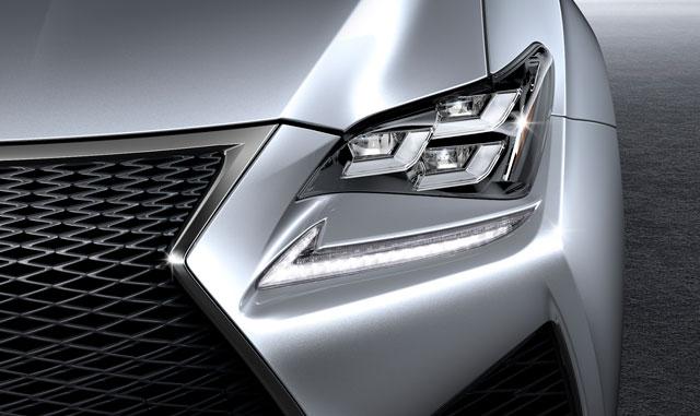 Lexus RC F Headlight