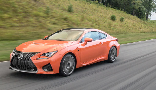 Lexus RC F Preview