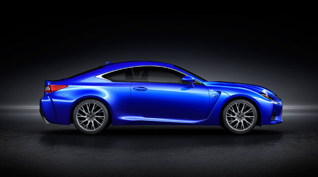 Lexus RC F Side