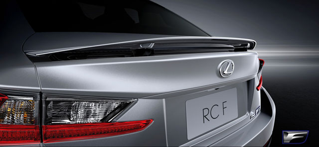 Lexus RC F Rear Wing