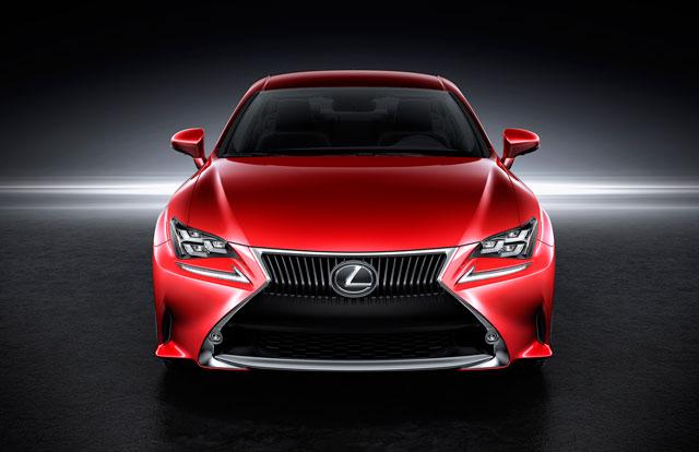 Lexus RC Front