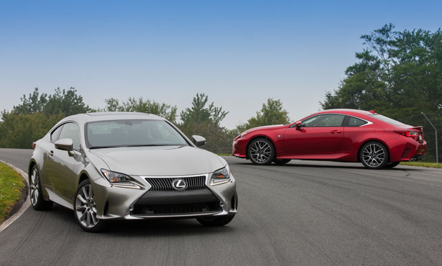 Lexus RC Preview