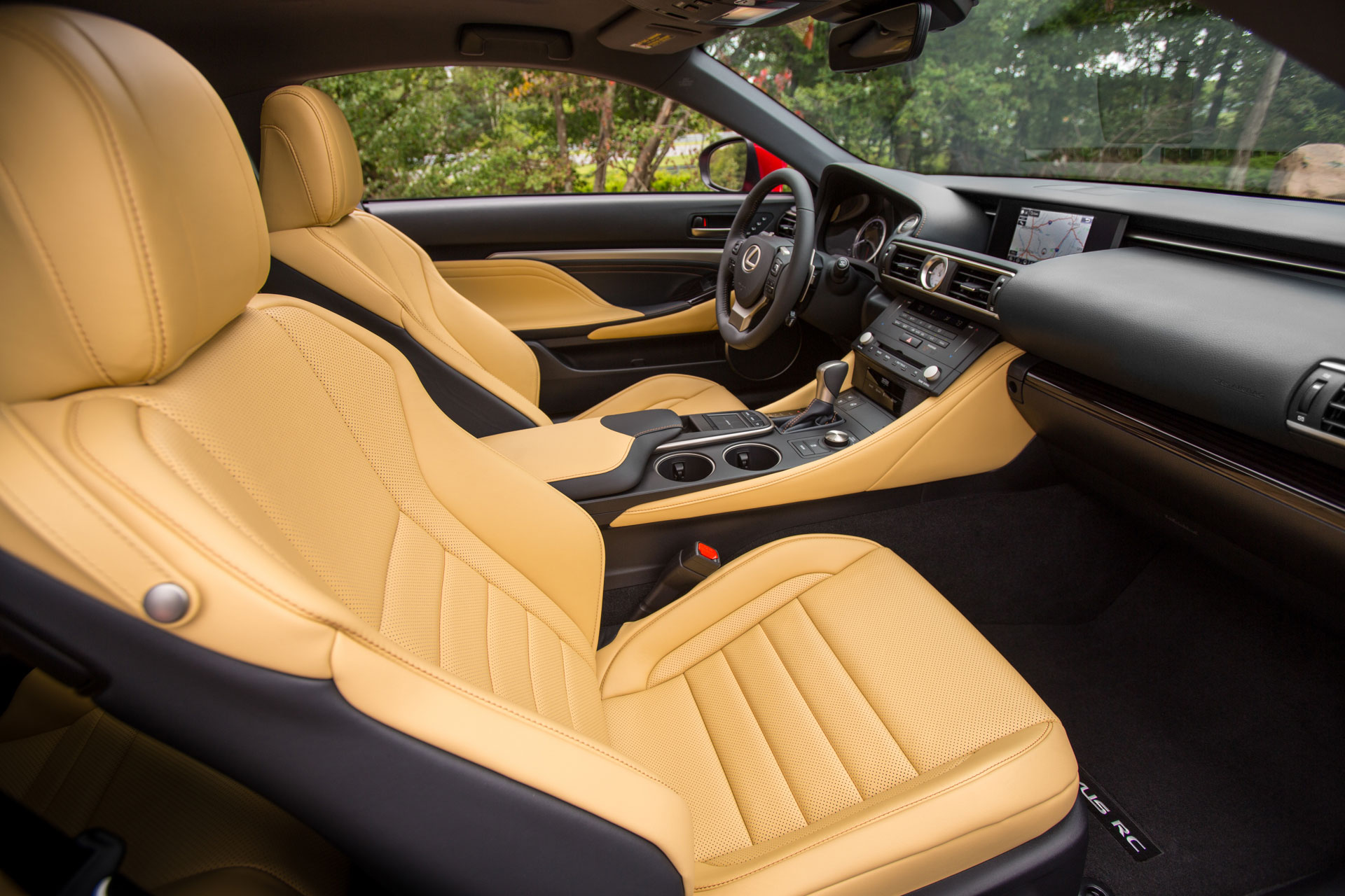 Lexus Rc Seating