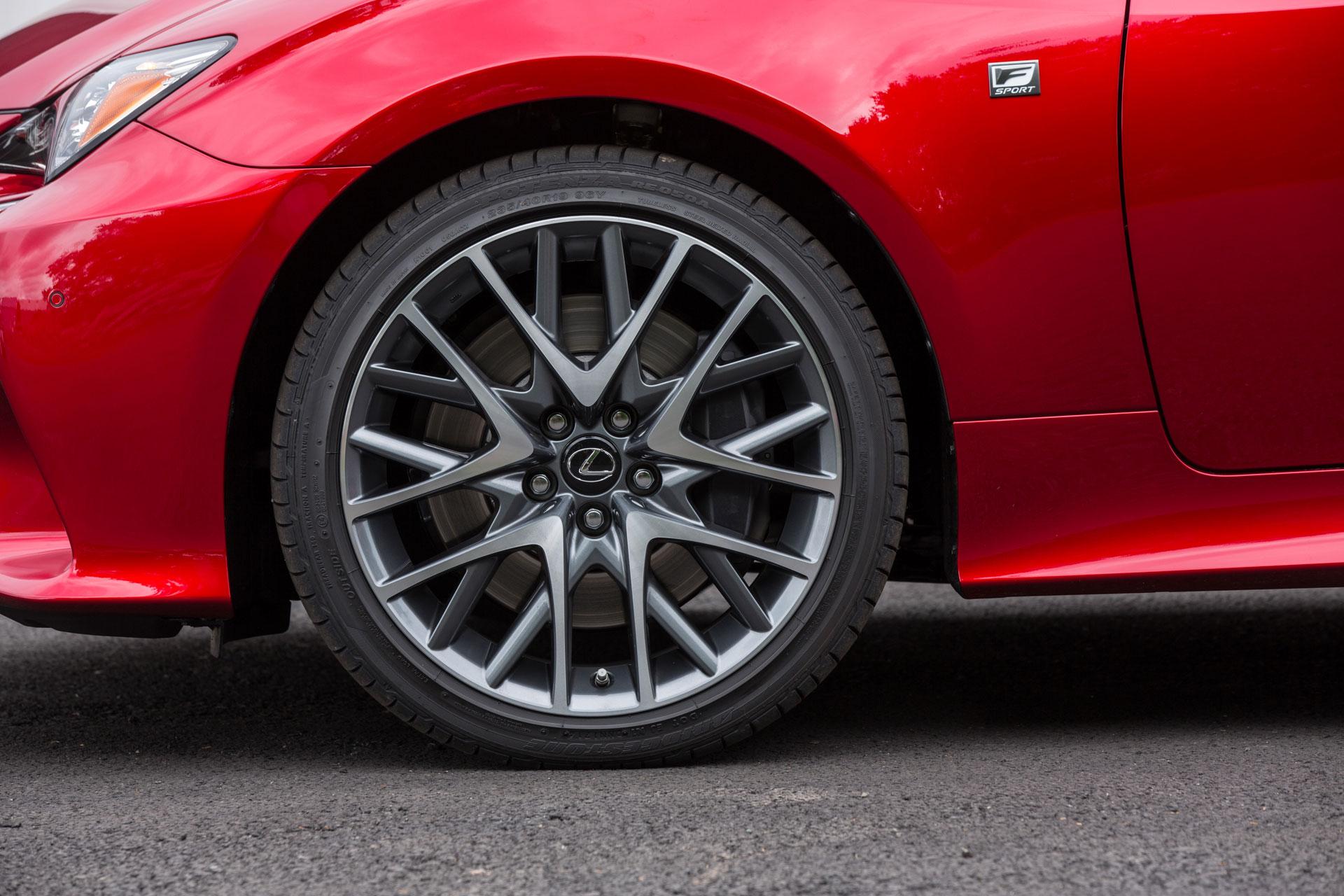 Blue Lexus Rc 350 >> Lexus RC F SPORT Wheel Design