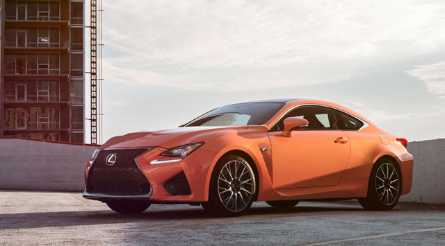 Lexus RC F Pricing Packaging
