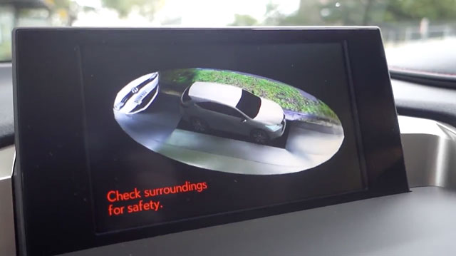 Video The Lexus Nx Surround View Panoramic Monitor In