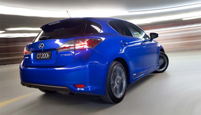 Lexus CT F & NX F