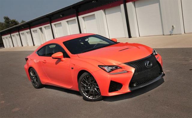 Lexus RC F Autoguide