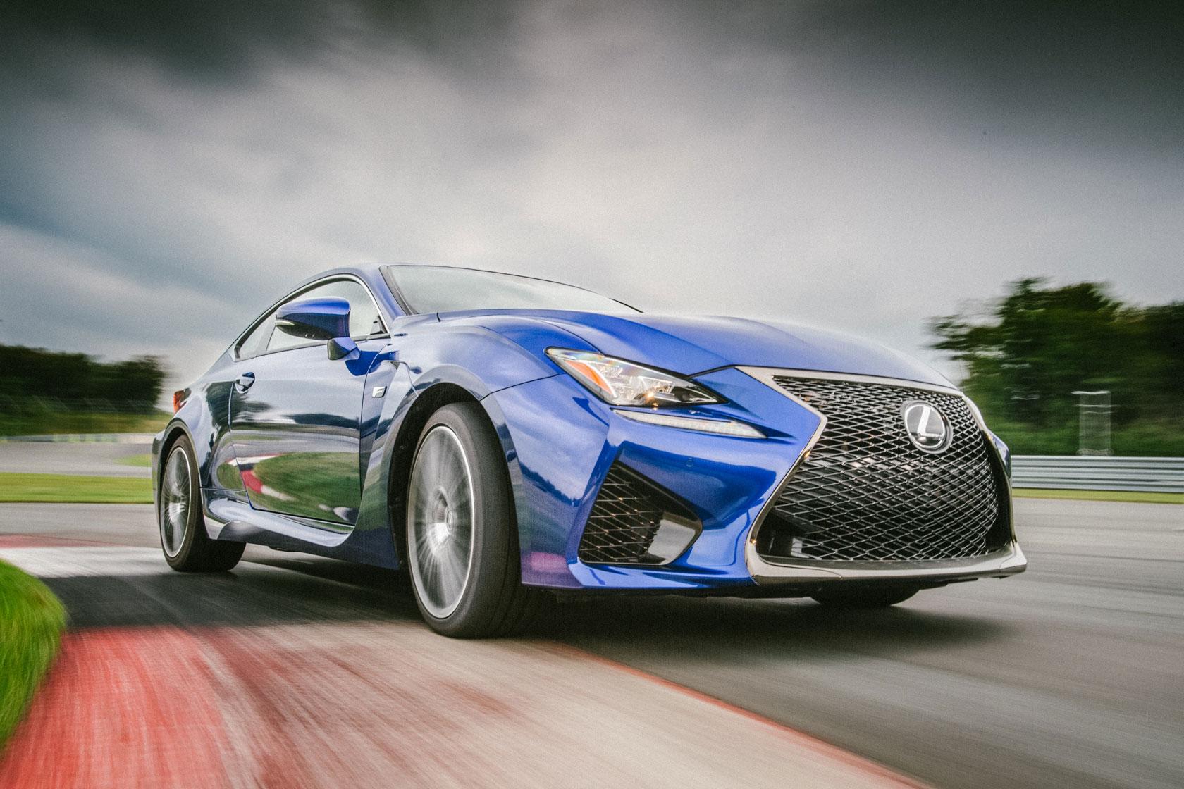 Lexus RC F Driving