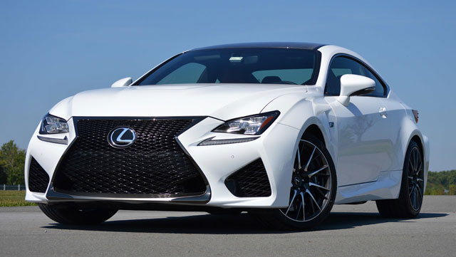 Lexus RC F Review Autoblog