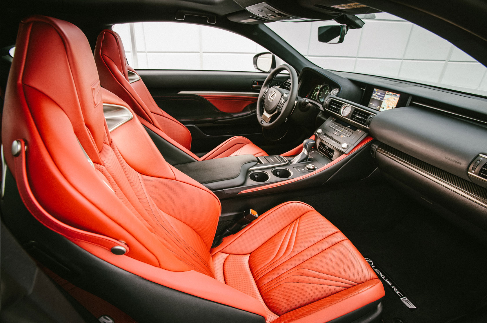 Lexus RC F Seats