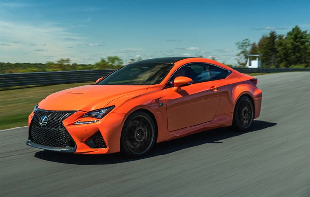 Lexus RC F Car Advice