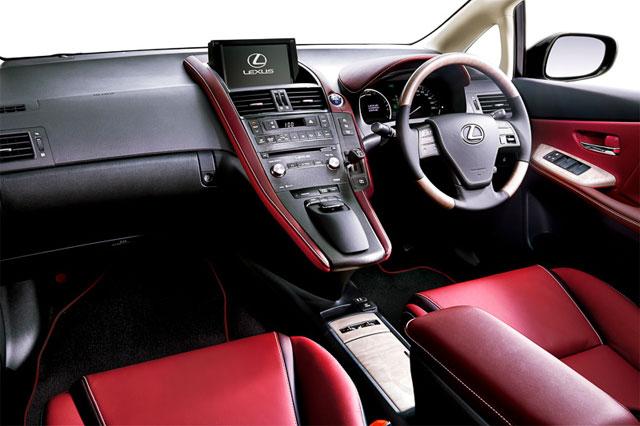Lexus HS 250h Harmonious Red