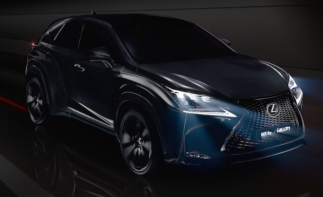 Lexus NX Will.i.Am teaser