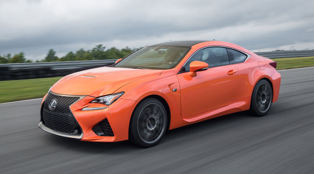 Lexus RC F CAR Magazine