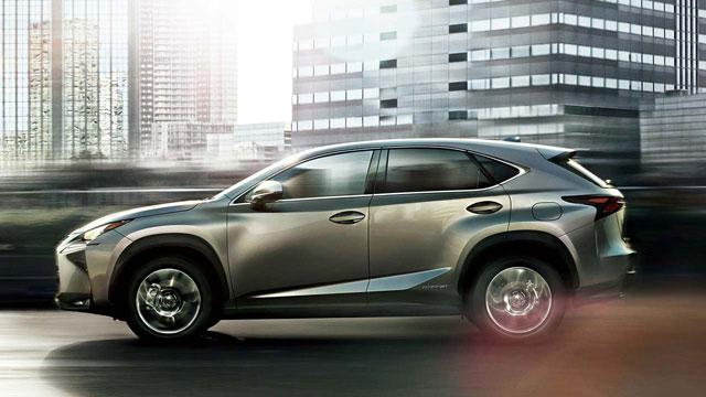 Lexus NX Japan Sales