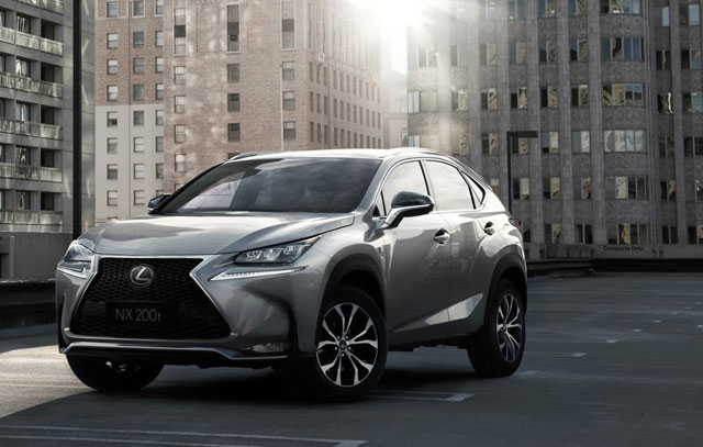 Lexus NX North America Award
