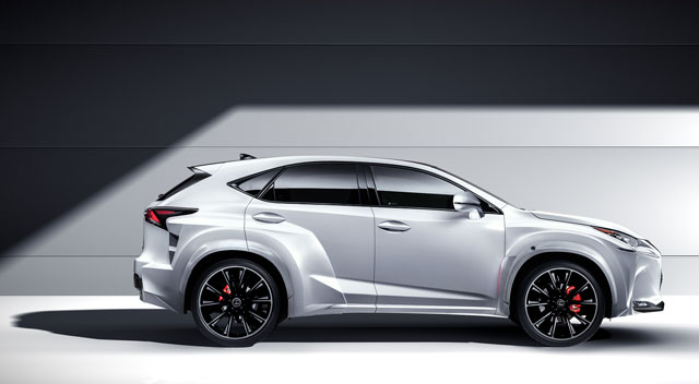 Lexus NX Custom Will.i.Am