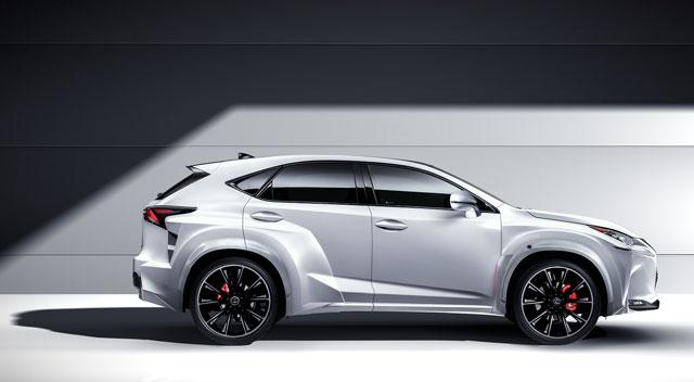 Lexus NX Custom Will.i.Am