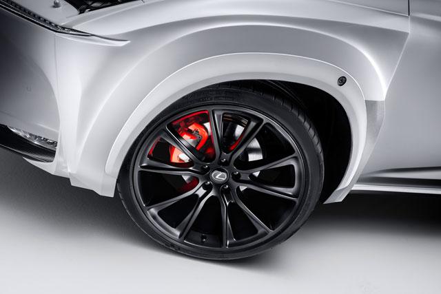 Lexus NX Wheel Arches