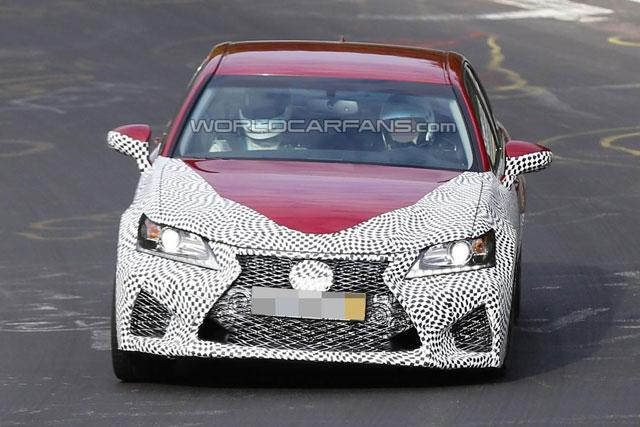 Lexus GS F Nürburgring Front