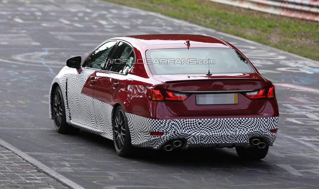 Lexus GS F Nürburgring Rear