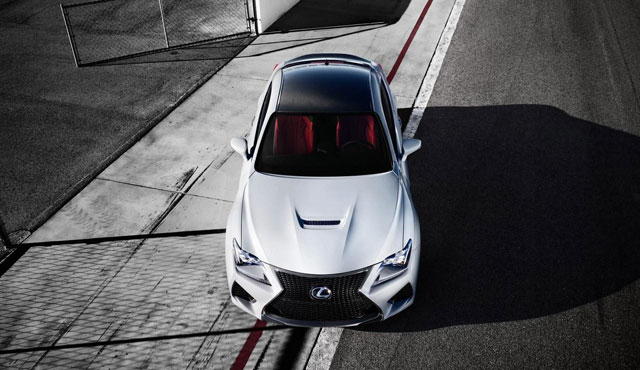 Lexus Insta-Build RC F