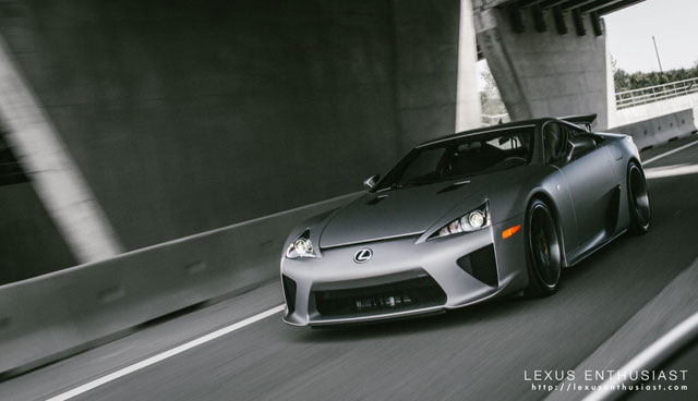 Lexus LFA OpenRoad Front Driving