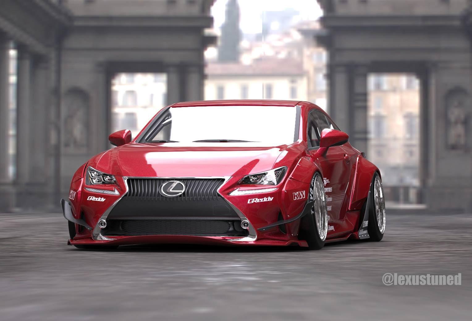 Rocket Bunny Lexus Rc F >> Rocket Bunny Lexus RC F SPORT Coming to SEMA | Lexus Enthusiast