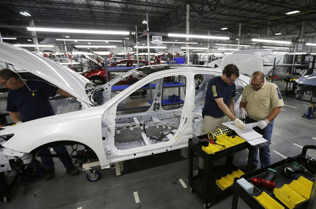 Lexus ES 350 Manufacturing in Kentucky