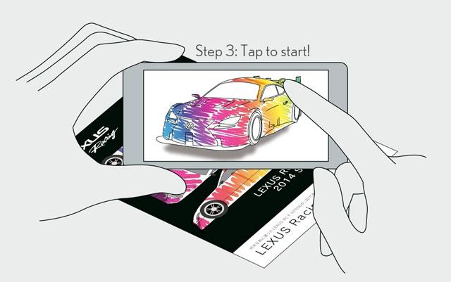 Lexus RC F Augmented 3
