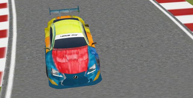 Lexus RC F Virtual Car