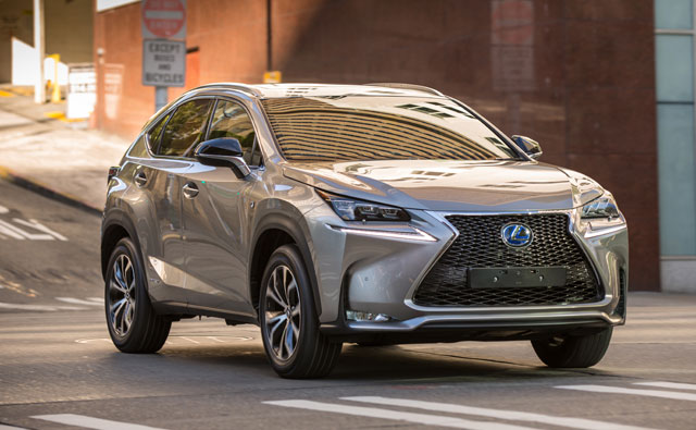 Lexus NX Smaller Crossover