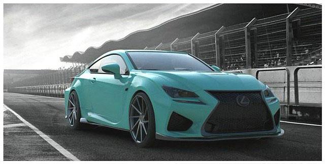 Lexus RC F Instabuild
