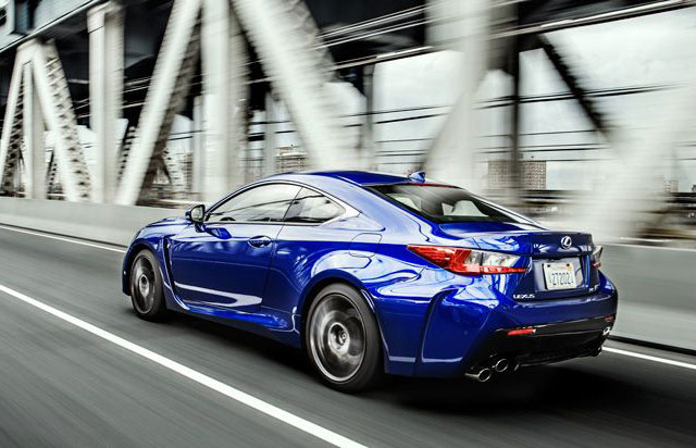 Lexus RC F Top Gear