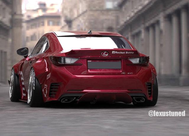 Lexus RC F SPORT Rocket Bunny
