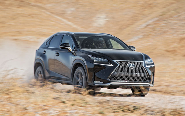 Lexus NX SUV of the Year Motor Trend Finalist