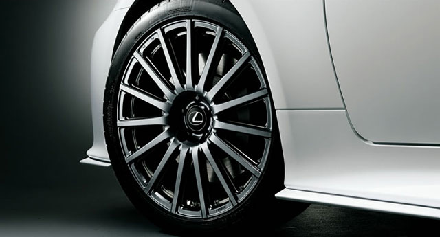 Lexus TRD Aluminum Fordged WHeels