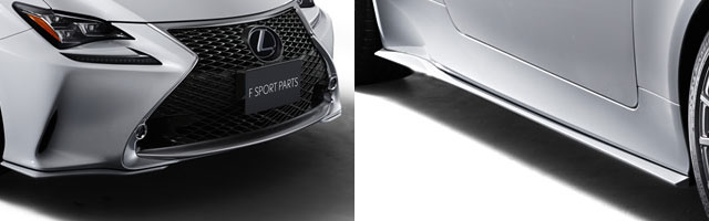 Lexus RC F SPORT Front & Side