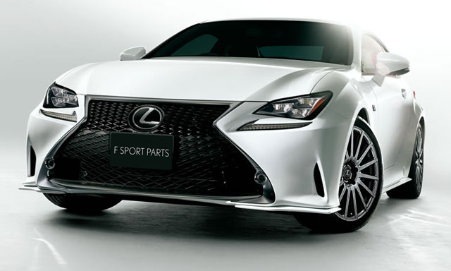 Lexus RC F SPORT TRD Parts