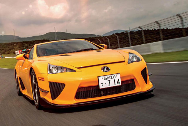 Lexus LFA Sport Auto Feature