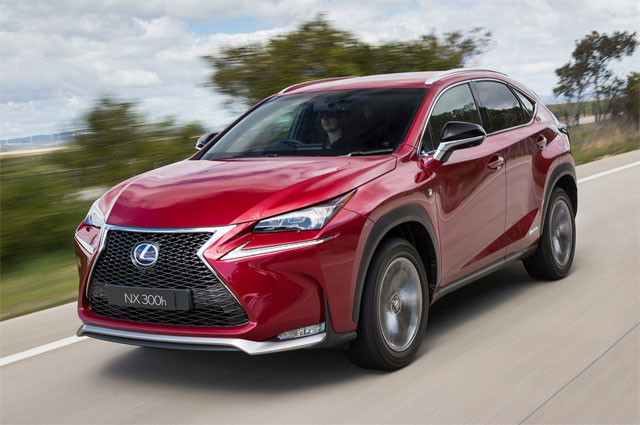 Lexus NX F High Performance