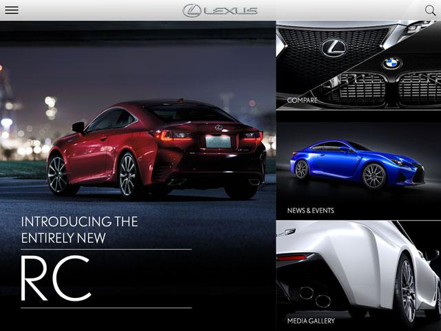 Lexus RC App