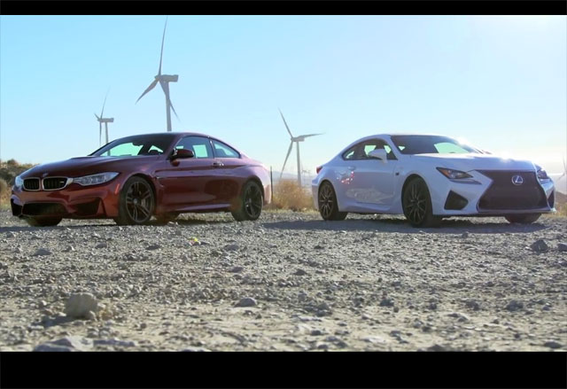 Lexus RC F vs. BMW M4