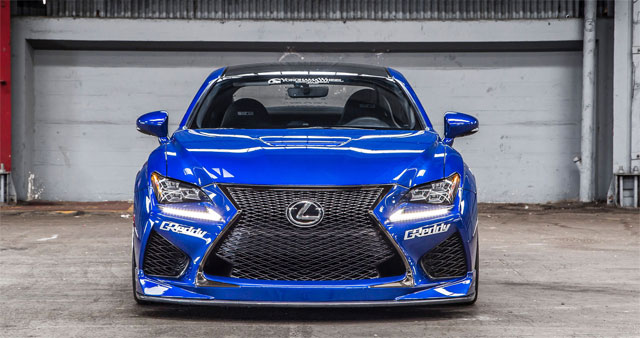Lexus at SEMA 2014 Liveblog